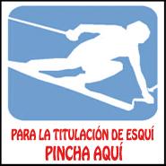 Ir a titulaciones esquí